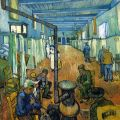 Ward of Arles Hospital by Vincent van Gogh
